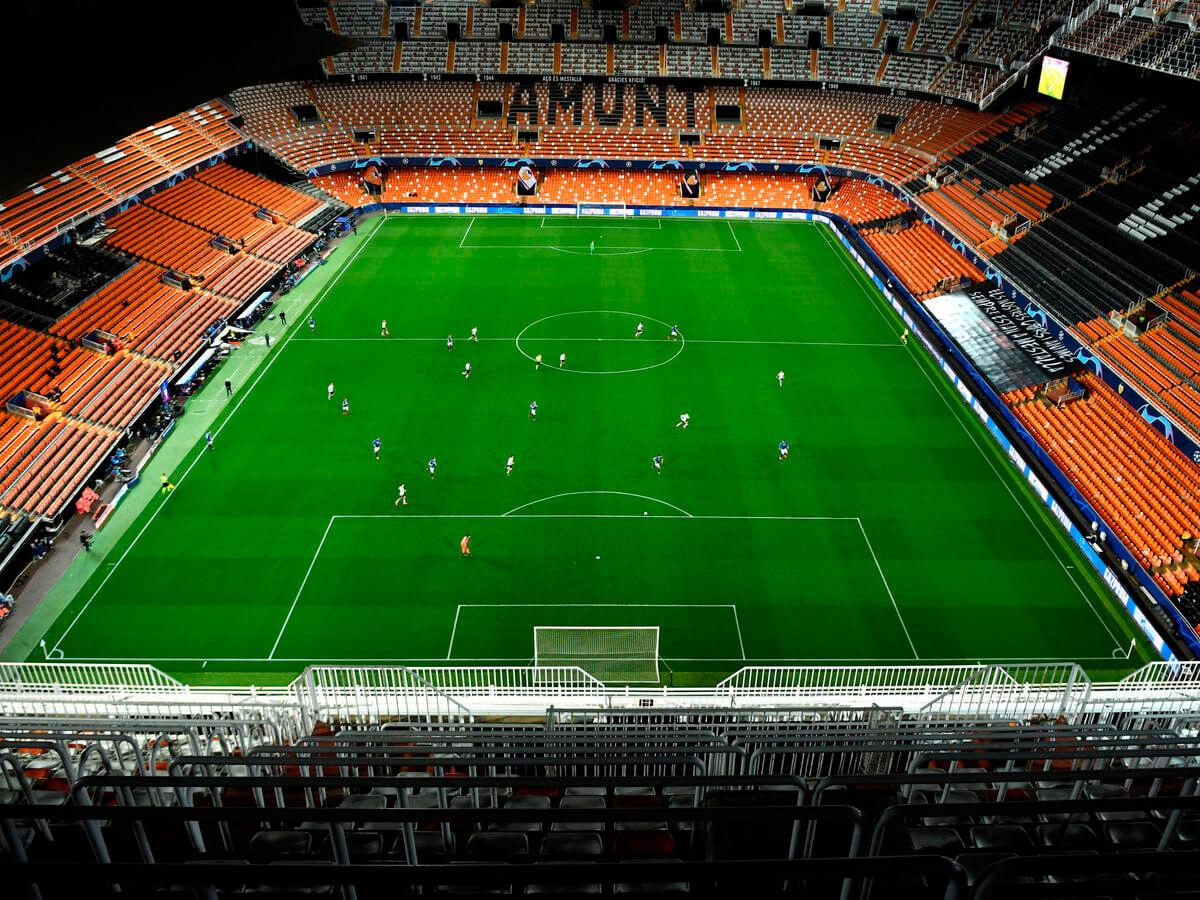 Asientos Estadio Mestalla