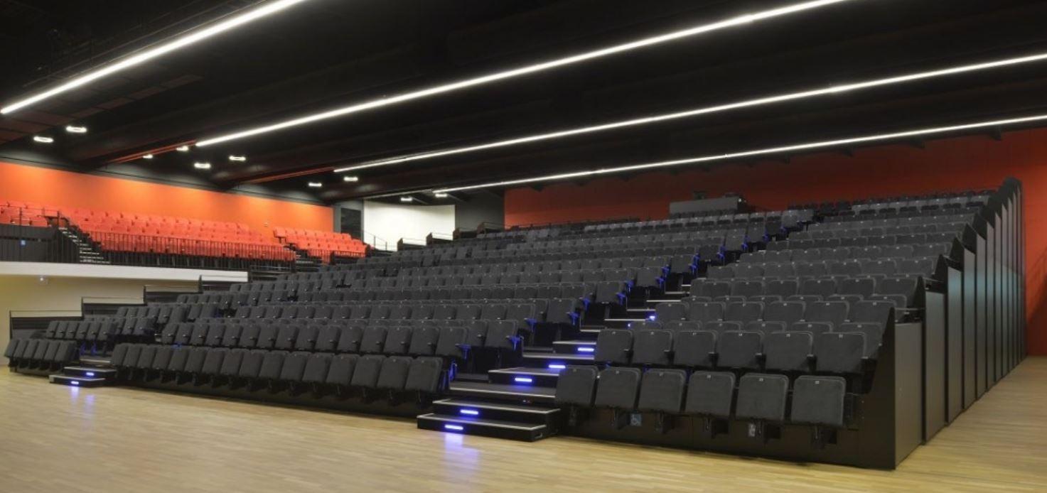 asientos retráctiles de calidad